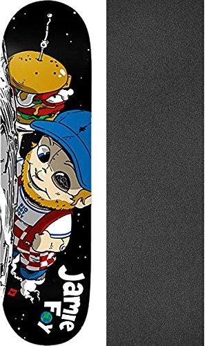 読書トランスペアレントデザイナーDeathwish Skateboards Jamie Foy Big Boy Foy In Spaceスケートボードデッキ – 8.12