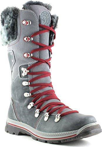Santana Canada Women's Melita3 Alpine Boot,Grey Crazyhorse Leather,US 6 M by Santana Canada