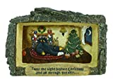 Bearfoots Cabin View Frame 'Twas The Night Before Christmas And All Thru The Den'