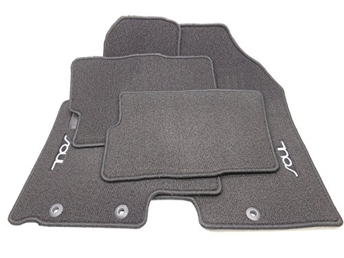 New OEM 2010-2013 Kia Soul Carpet Floor Mat Set Of 4 - Black