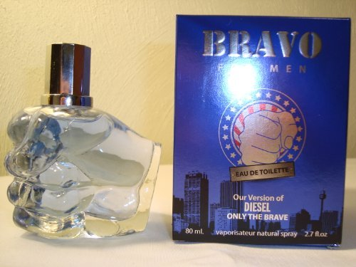 BRAVO-PERFUME FOR MEN-2.7 OZ-EDT-VERSION OF DIESEL ONLY THE BRAVE by Diamond -