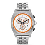 Nixon Unisex The Time Teller Chrono Watch X Star Wars Collab Bb-8 White/Orange Watch