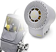 Airtory - Air Purifier Small, Gray, HEPA Filter Portable Air Purifier for strollers