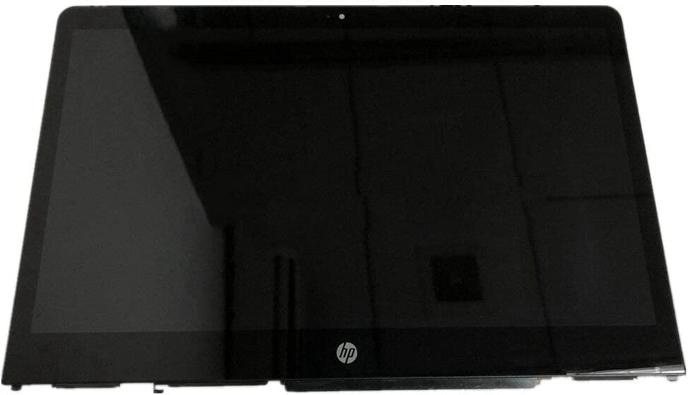"""Screen Expert 14.0"""" HD 1366x768 LCD Panel Anti-Glare LED Screen Display with Touch Digitizer and Bezel Frame Assembly for HP Pavilion X360 Convertible 14M-BA013DX 14M-BA015DX 14T-BA000 P/N: 924298-001"""