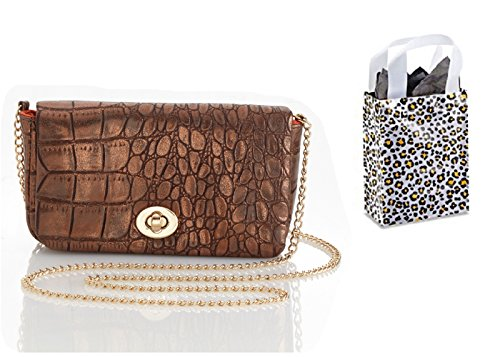 Enesco Global & Vine Metallic Purse and Bag - 2 Piece Gift Set (Copper)