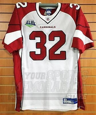 9eda7745d4e8 Amazon.com  Edgerrin James Arizona Cardinals  32 Authentic On-Field Super  Bowl Jersey  Sports Collectibles
