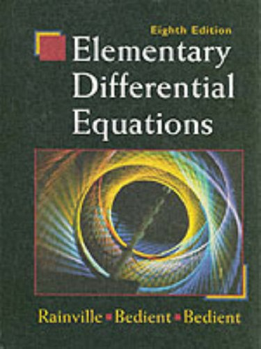 Differential Equations Books Pdf
