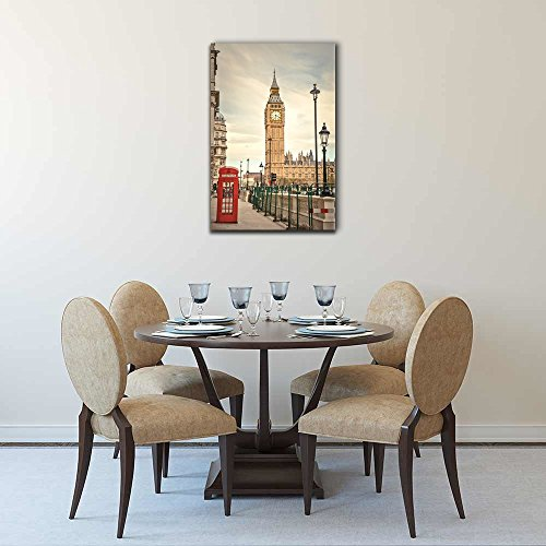 Watercolor Style London Landmarks