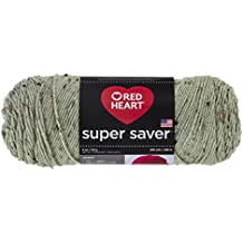 Red Heart  Super Saver Yarn, Frosty Green
