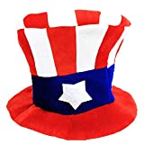 Blancho Bedding Fancy Dress Hat Jester Hat Fun Multi-Color Halloween Party Costumes,Clown Hat#5