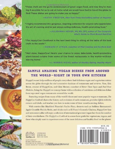 The HappyCow Cookbook: Recipes from Top-Rated Vegan