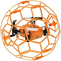 Flymemo Skytech M70 Mini 2.4G 4CH 3D Eversion RC Quadcopter with Football Shaped Protector