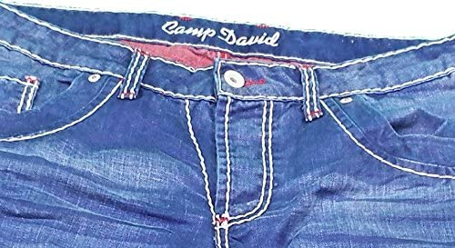 Camp David R611 W33L32 Dark Vintage Used Nick Jeans pour homme