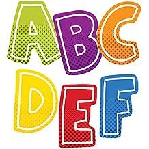 Carson Dellosa Super Power Alphabet Uppercase Shape Stickers (168197)
