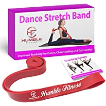 Humble Fitness Dance Stretch Bands for Flexibility   Stretch Band for Dancers, Gymnastics, Cheerleading   Ballet Stretch Band   Perfect Stretching Band for Cheering, Ballet and Gymnastics