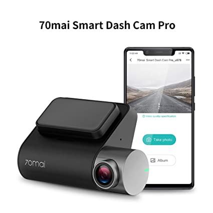 70mai Dash Cam, Dashboard Camera Recorder, Pro 1944P, Parking Monitor, Car  Camera,2