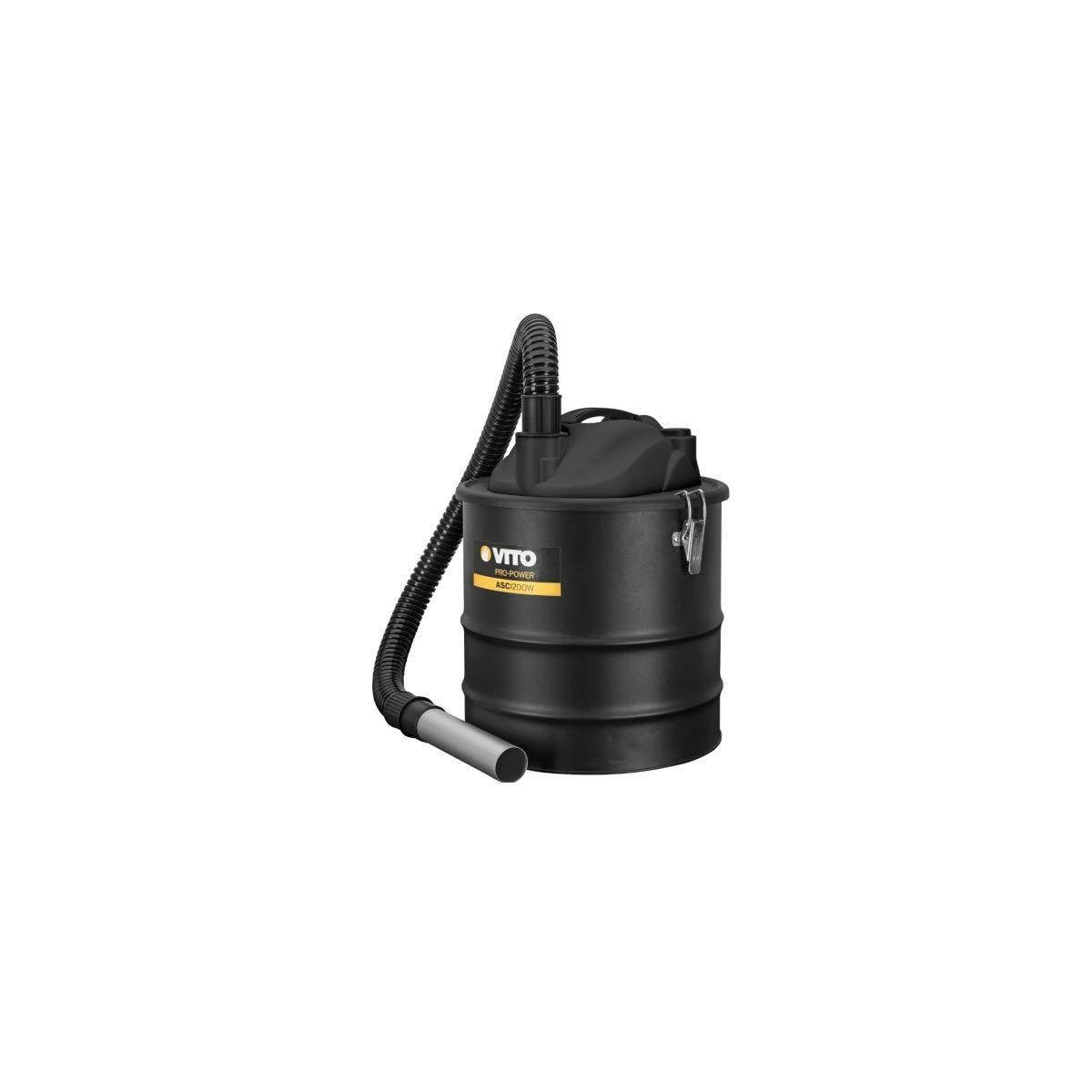 Aspirador de cenizas de Vito 1200 W bandeja 18L incluye filtro HEPA especial Barbecues y sartenes de hasta 50 °C función soplador: Amazon.es: Bricolaje y ...