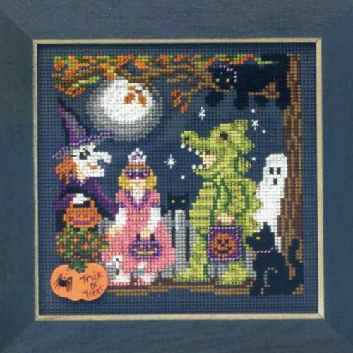 Halloween Night - Cross Stitch