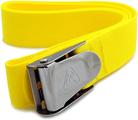 Cressi Weight Belt, Neon Yellow