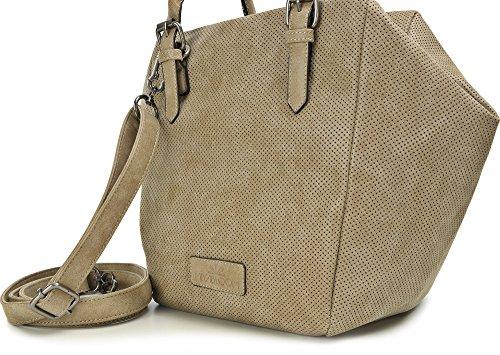 With 42 Trapezoidal Color Sand Bloom 21 Shoulder Sand X Ladies Straps X Bags Cm H 23 w X Miya D X Handbags Bags RIq8Bpwwz