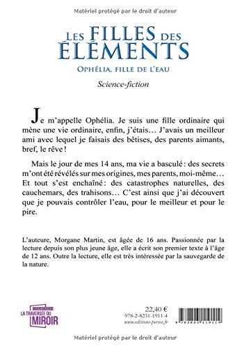 Les Filles Des Elements Ophelia Fille De L Eau Ptravmiroir