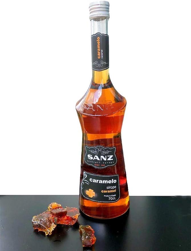 Jarabe de caramelo Sanz, 0,7 L: Amazon.es: Alimentación y bebidas