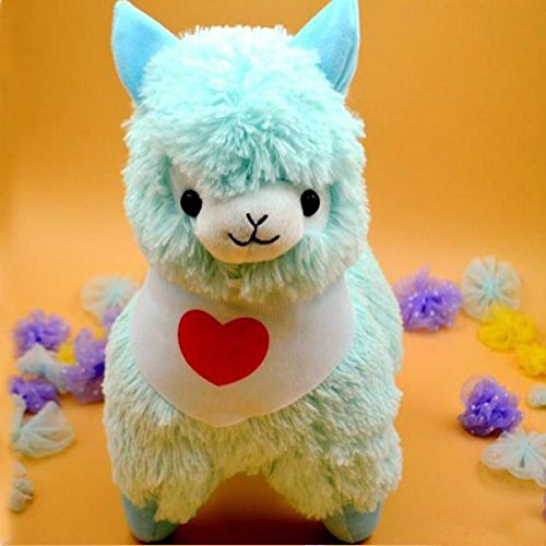 Amazon.com: 35cm Juguetes Japan Alpaca Plush Toys Wearing Flags 5 Colors Pelucia Stuffed Animals Lama Sheep Peluches Alpacasso Baby Doll: Baby