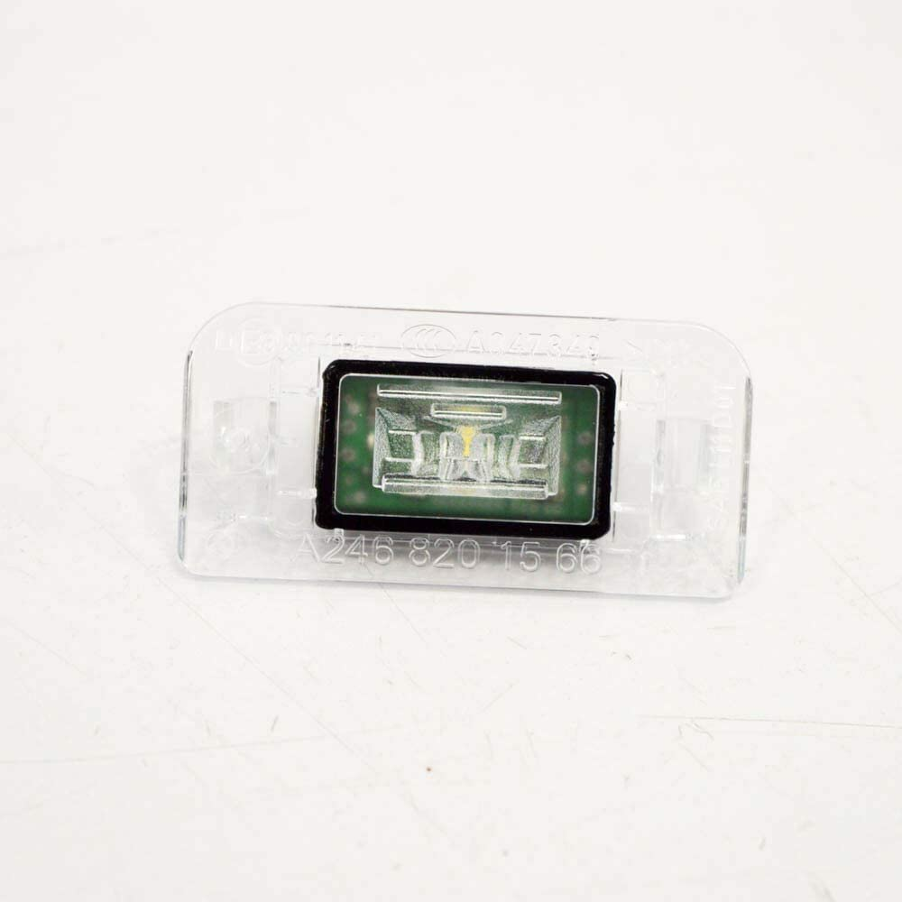 PARTS INVESTMENT MB Benz B W246 License Number Plate Light A2468201566 GENUINE NEW