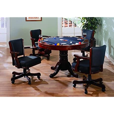 Coaster Mitchell 3 In1 Game Table In Cherry