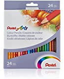 Pentel Colour Pencils (Set of 24)