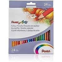 Pentel CB8-24U Artes Lápices de Varios Color, Paquete con 24