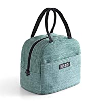 Honch Lunch Bag Lunch Tote Bag Large Capacity Lunch Box Insulated Lunch Container for Women Men Work School Picnic Hiking (Green)