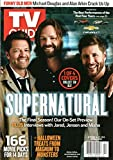 TV Guide Magazine October 14-27 2019 Misha Collins Jared Padalecki Jensen Ackles Supernatural