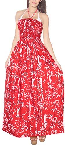 Encubrimiento la baño de Mujer Maxi Playa la del Desgaste Traje Correas Falda Tarde LA LEELA de de Traje e642 de de de Tubo baño de Vestido Rojo la para BTqnFwC