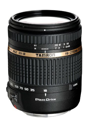 Tamron AF 18-270MM F/3.5-6.3 PZD ALL-IN-ONE Zoom Lens Wit...