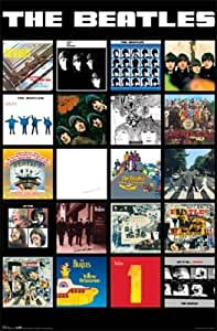 Amazon Com 24x36 The Beatles Complete Albums Music