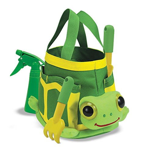 Melissa & Doug Sunny Patch Tootle Turtle Gardening Tote Set With (Tootle Turtle)