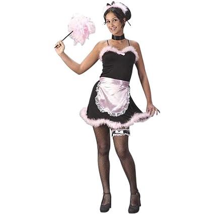 Teen French Maid Costume Jr (0-9)  sc 1 st  Amazon.com & Amazon.com: Teen French Maid Costume Jr (0-9): Toys u0026 Games
