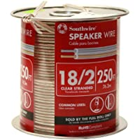 Clear Speaker Wire 250 Feet (3000 Inches)