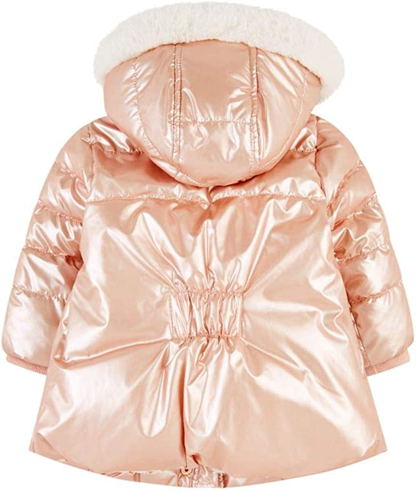 Mothercare Baby Flow Padded Coat Plain Pink