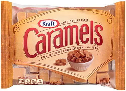 Kraft America's Classic Caramels, 11 Ounce (Pack of