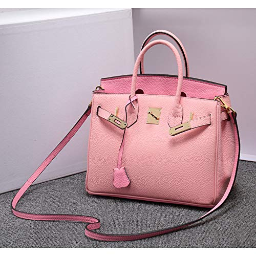 Shoulder Fashion Diagonal Handbag Gsyddjb Layer Contrast Color Platinum Lychee First Bag Women's 1fHq7aPw