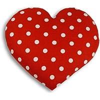 Leschi | Almohadilla de calor (para el vientre) | Corazón | grande