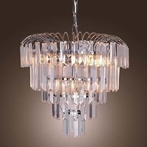 LightInTheBox Luxuriant Crystal Chandellier (E14 Bulb Base)