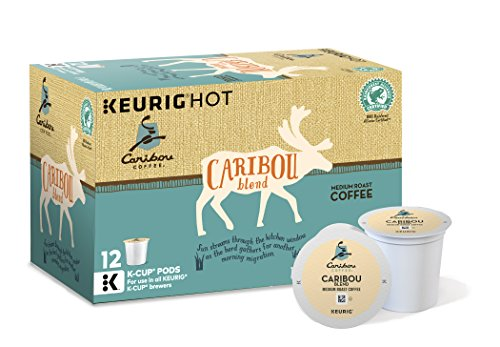 Caribou Coffee Caribou Blend, Keurig K-Cups, 72 Count