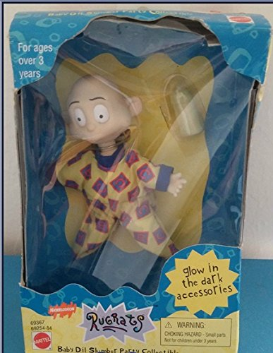Rugrats Collectible Soft Pal - Slumber Party Baby Dil