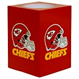 The Northwest Company NFL Kansas City Chiefs Square Flameless Candle