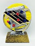 3-D Cornhole / Corn Toss Award in Color - 5''