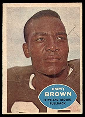 1960 Topps # 23 Jim Brown Cleveland Browns-FB (Football Card) Dean's Cards 1 - POOR Browns-FB