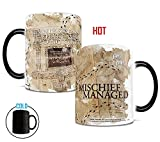 Morphing Mugs Harry Potter Hogwarts Marauders Map Heat Reveal Mug Deal (Small Image)